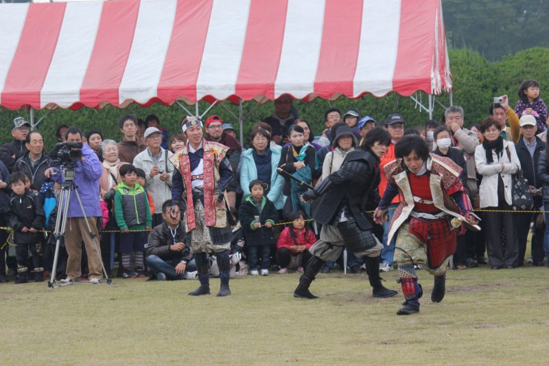Perfomance during Jidai Matsuri
