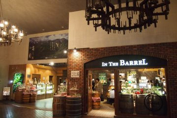 <p>At The Barrel, you can buy travel-size Hakushu whiskey and other memorabilia.</p>