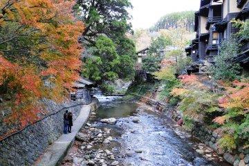 Осень в Курокава Онсэн