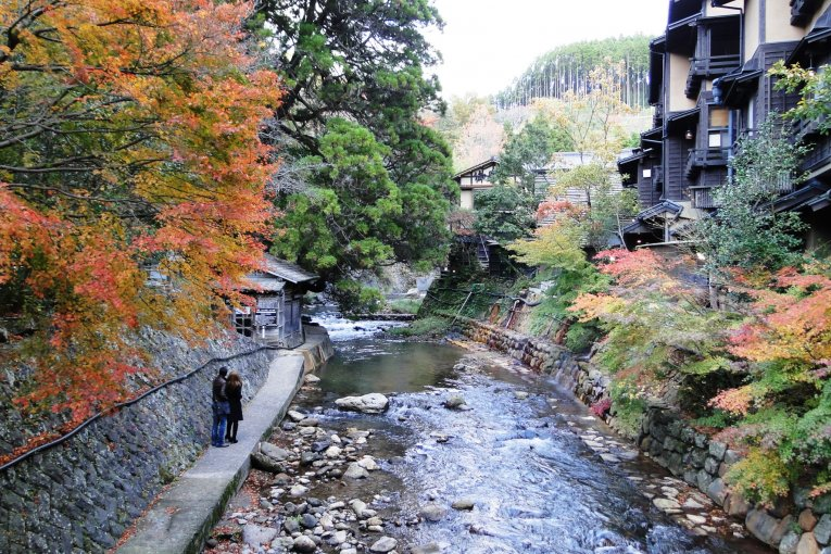 Musim Gugur di Kurokawa Onsen