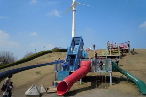 Slide, climb, bounce, explore and play outside at Tochigi Museum