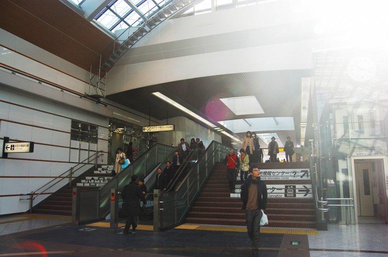 <p>สถานีรถไฟเจอาร์นากาโน่</p>