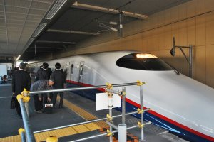 Asama train of Shinkansen