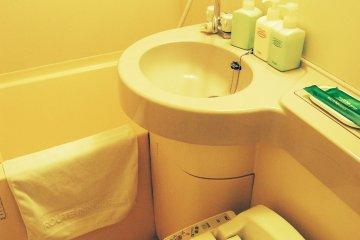Bathroom and the facilities