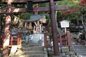 Several smaller shrines, buildings, and structures can be found in the main shrine's perimeter.