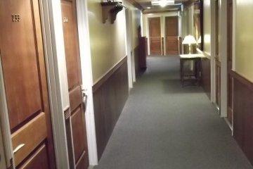 <p>The corridor on the second floor</p>