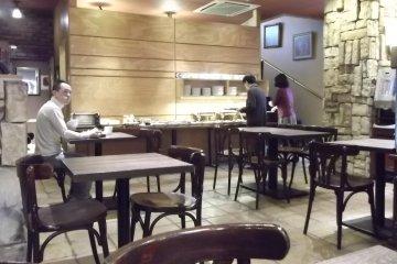 <p>The breakfast room</p>