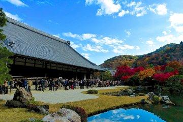 <p>Tenryu-ji Temple and Hojo Garden</p>