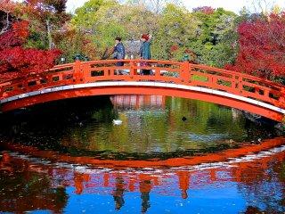 Se pedir um único desejo ao atravessar a Ponte Hojo, o mesmo será realizado!