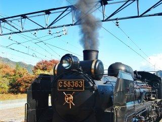 Steam locomotive C58363