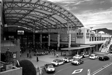 Станция JR Нагасаки - начальная точка во всех моих путешествиях в Нагасаки