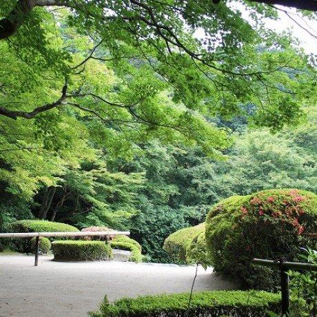 京都洛北「詩仙堂」