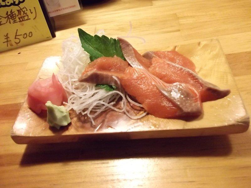 <p>My tasty sashimi</p>