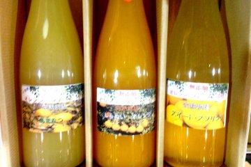 น้ำผลไม้ Dekopon และน้ำส้มชนิดอื่นๆ