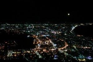 하코다테의 야경