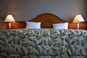 King size bed for a perfect sleep