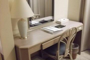 <p>โต๊ะของผม</p>