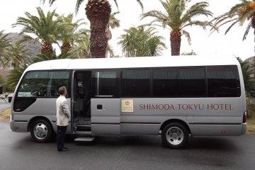 <p>รถบัสรับ-ส่งระหว่างสถานี</p>