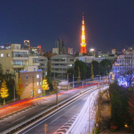Tokyo Tower Saat Malam
