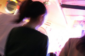 <p>Ponytails and polka dots: Kento&#39;s Roppongi is popular with the ladies</p>