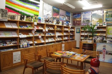 <p>The Tourist Information Center is filled with information that is needed for your JR Furano tour. Get the Tourist Map and the FURANO Area Guide!&nbsp;</p>