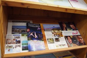 Brochures regarding other cities and towns around Furano are also available for your next destinations.