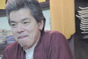 Master chef/owner Hiroshi-san