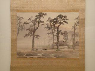 """""""Sương mù buổi sáng"""" của Gyokudo Kawai"""