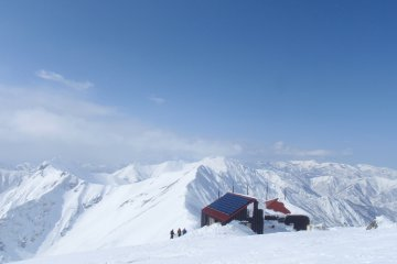 <p>This hut is open year round providing accommodation and food</p>