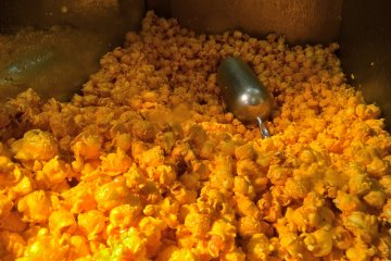 <p>One of the sensational signature flavors available at Garrett Popcorn Shops: CheeseCorn</p>