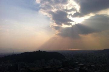 Hiking Mt. Miyuki