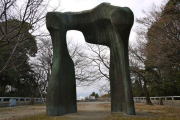 Henry Moore's Arch, Hiroshima Museum of Contemporary Art
