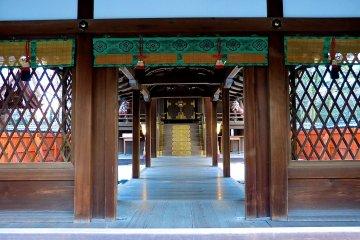 <p>Inside the main hall</p>