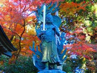 Fudo Myoo statue