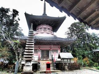 Two story pagoda