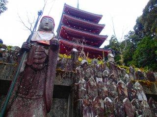 Monju Bosatsu statue