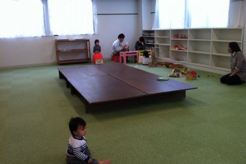 <p>Kids&#39; playroom/events&#39; room on the second floor</p>