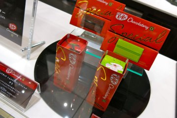 <p>The KitKat Chocolatory packaging is actually very classy</p>
