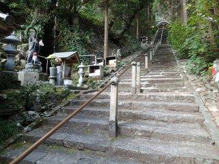 Stairs to Main Hall