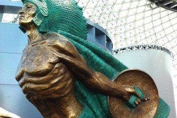 Osaka Maritime Museum Glass Dome