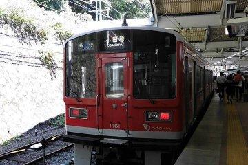 <p>รถไฟไต่เขาที่จะพานักท่องเที่ยวไปสู่สถานี Gora ค่าใช้จ่ายประมาณ 800 円</p>