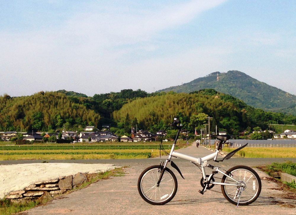 Kumamoto Prefecture is a great place for cycling.