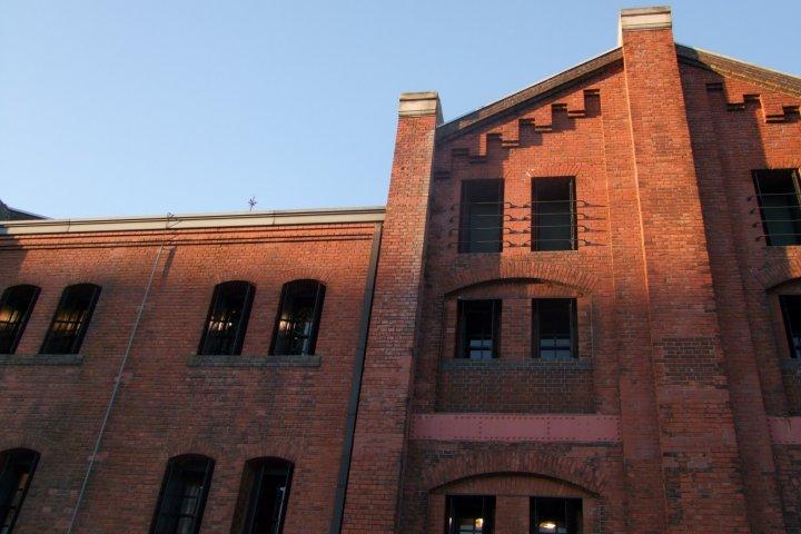 ตึกแดงแหล่งบันเทิงย่านโยโกฮาม่า
