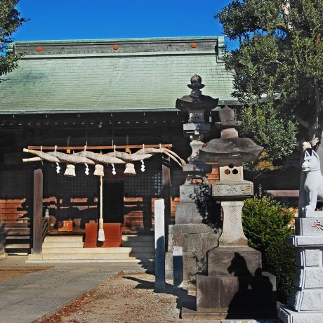 Okegawa Inari Shrine and Daibanjaku