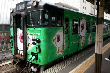 <p>เมดามะ โอยาจิ (ผีดวงตา)&nbsp;พ่อคิทาโร่มารับเราถึงที่เลย</p>