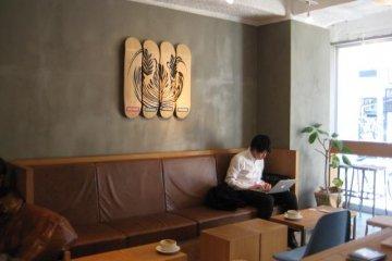 Streamer Coffee Interior