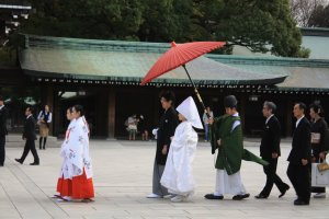 งานแต่งงานแบบชาวญี่ปุ่น