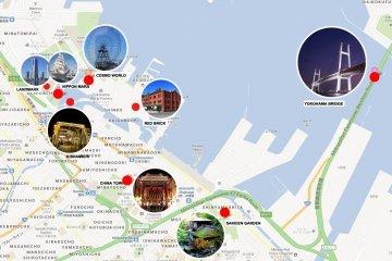 <p>แผนที่ตำแหน่งสถาปัตยกรรมต่างๆ</p>