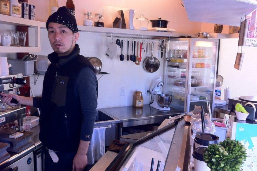 Love Crepe kitchen