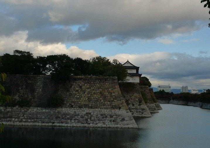Moat at Osaka Castle